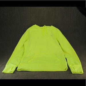 Nike Bright Yellow Therma Fit Hoodie